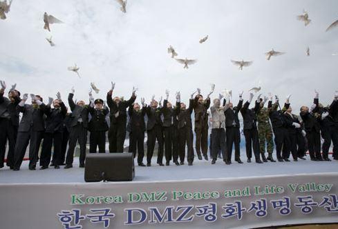 평화, 생명, 미래의 땅을 일구다, 한국DMZ평화생명동산추진위원회 위원장