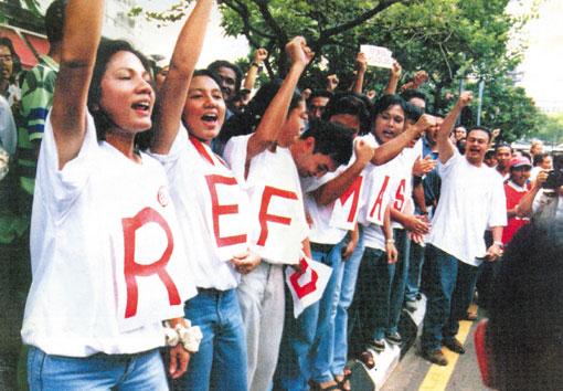 말레이시아, 좌절된 레포르마시와 공고한 반 민주주의
