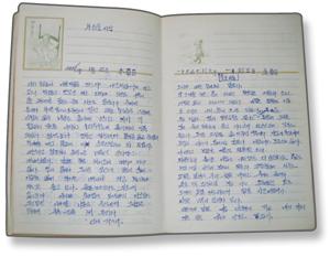 열아홉 살 여성 노동자 김경숙의 일기장