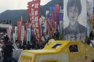 '87년 노동자 대투쟁'의 깃발이었던 대우조선노조 백순환
