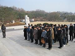 2012년 시무식, 임직원4.19국립묘지참배 썸네일 사진