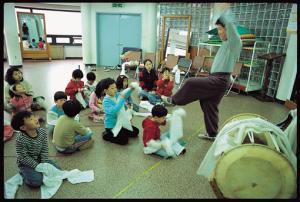 지역문화운동을 아이들과 함께 그이가 걷는 길, 탈춤