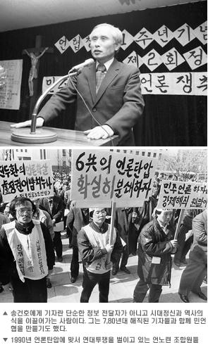 참 언론인 송건호 2 사진