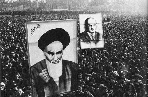 자유와 해방을 위한 이란인들의 외침 사진