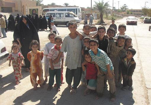 신으로부터 부여받은 통치권 요원한 이라크의 민주화 사진