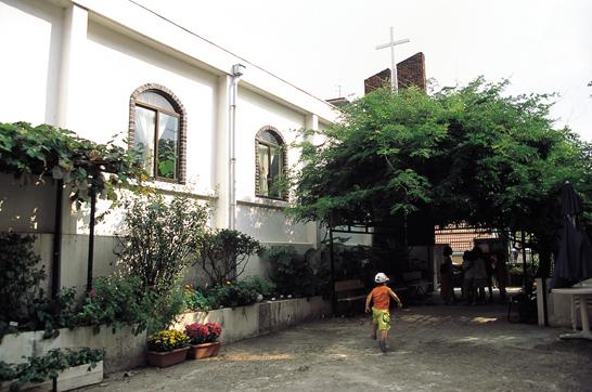한국 개신교 민주화운동과 민중신학의 산실 한빛교회 사진