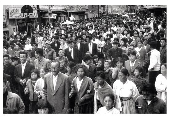 1960년 4월 11일 사진